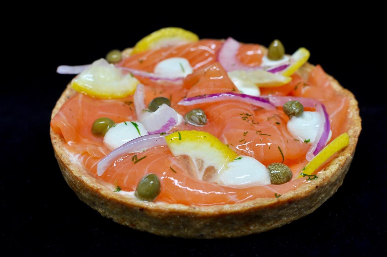 Tarte au saumon