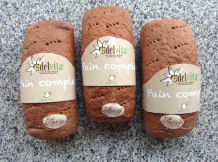 Farine complète bio (froment, seigle et orge) gluten de froment, levure bio