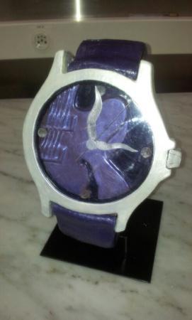 Création horlogère en chocolat
