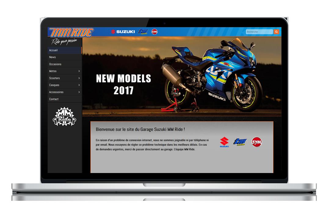 MM Ride Garage moto Genève