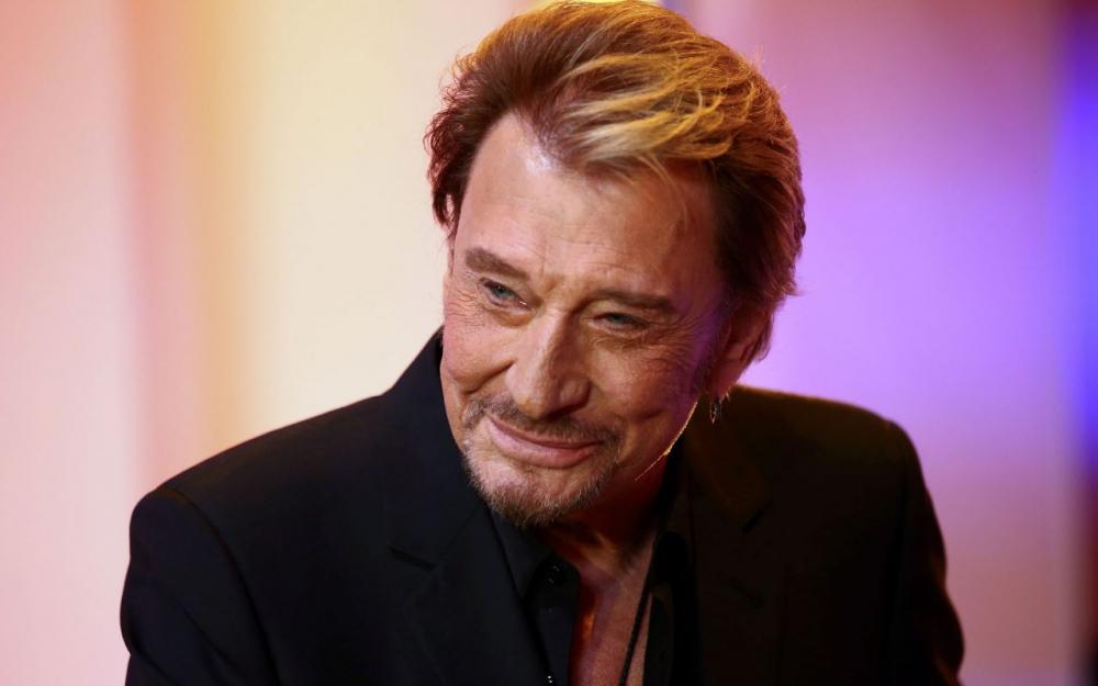 Johnny Hallyday(74 ans) la Légende ...une star , le king nous a quitté