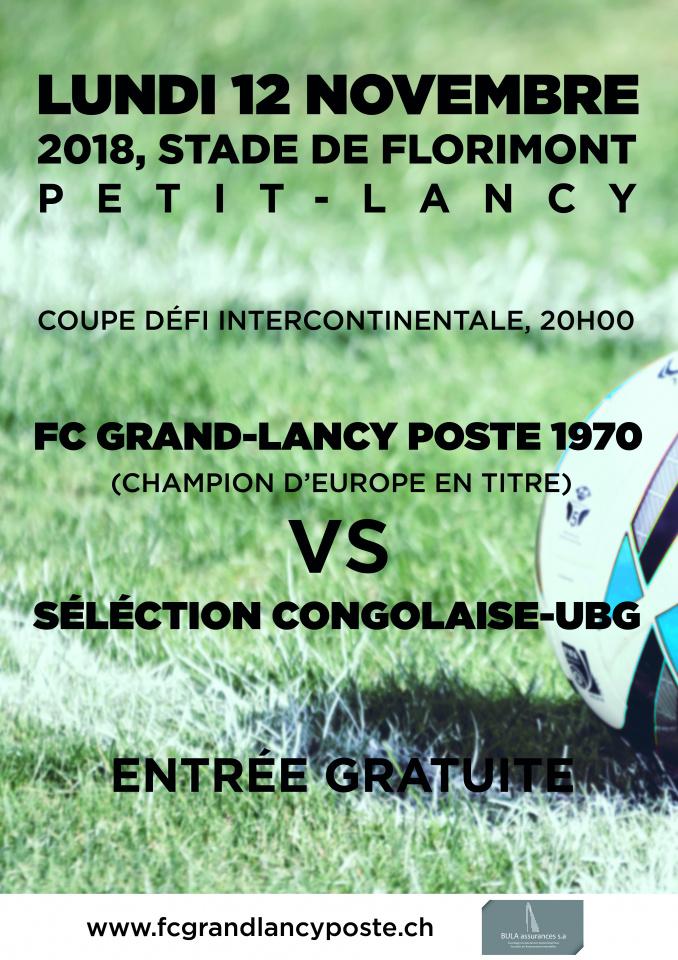 LE FCGLP en Coupe Intercontinentale