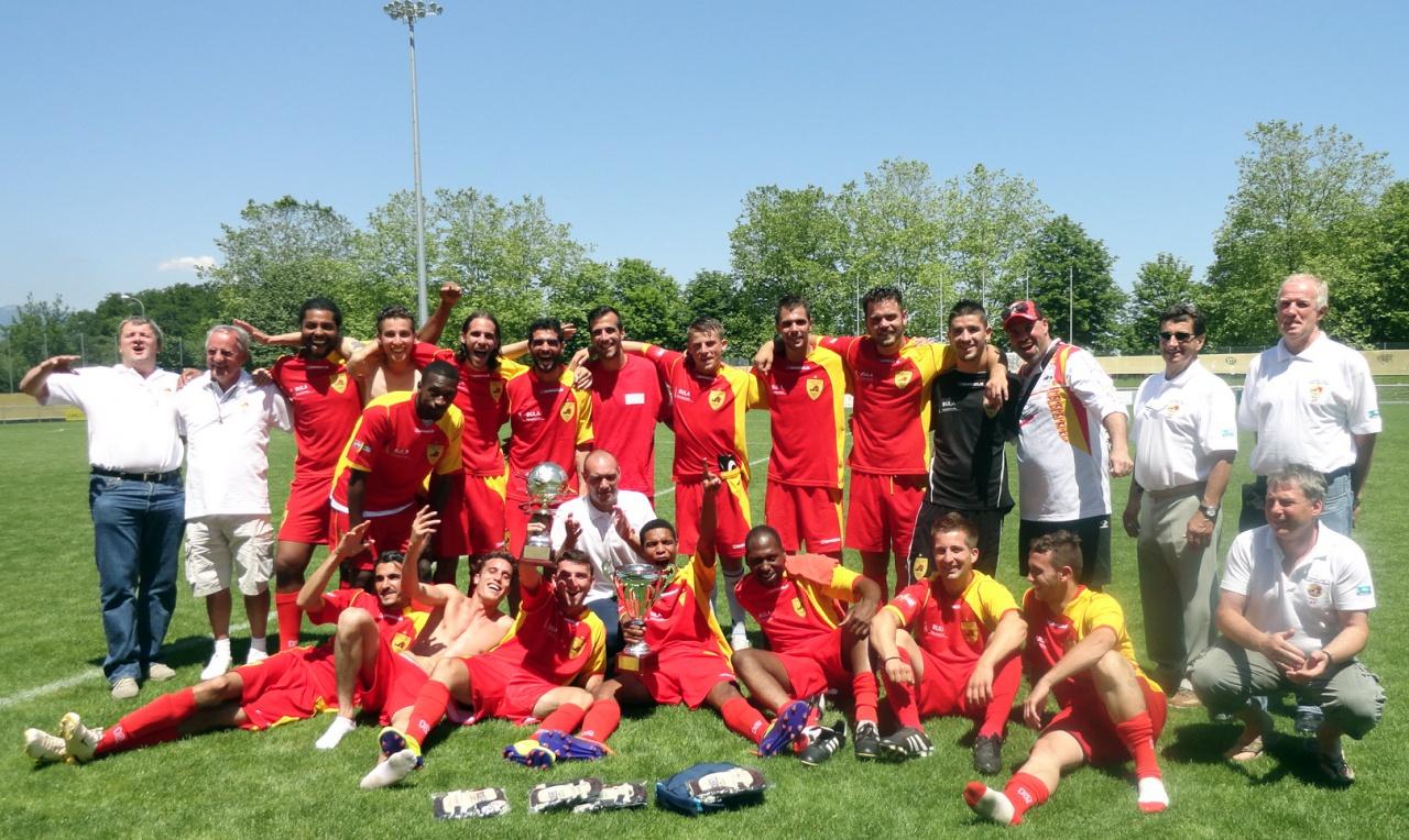 Champion d'Europe de football corporatif 2012 /  AEFCO