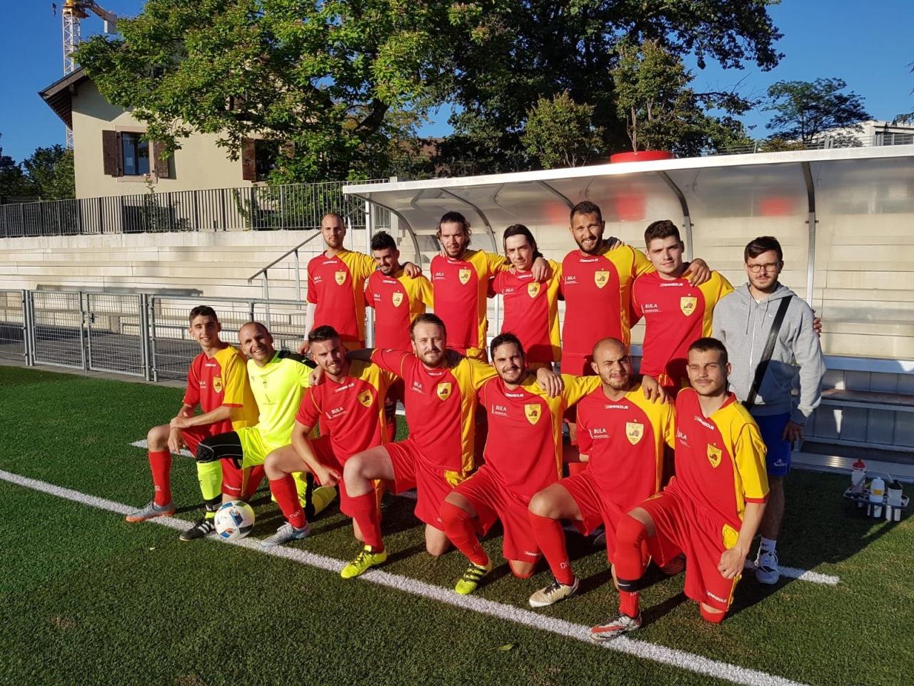 Lundi 25 juin 2018 Match de Coupe Défi (2) - FCGLP1970 - Procter & Gamble Europe 2 - 2 / victoire du FCGLP aux penalties 4-2