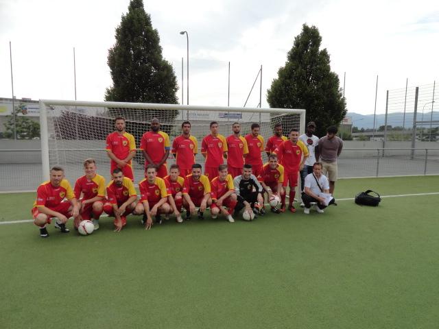 FCGLP - FC AUTOBRITT  S.A  4-2 (3-1) 22 juin 2015 - Stade de Florimont, Petit-Lancy