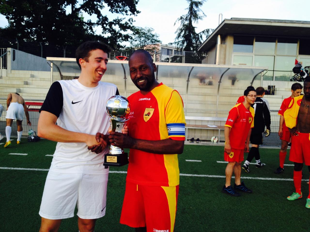 FCGLP - Proster & Gamble Europe s.a.  1-1 (0-0) Défaite 3 à 1 aux tirs au but. 29 juin 2015