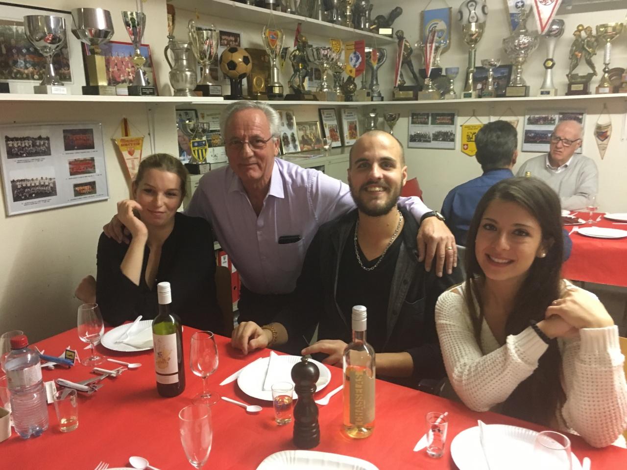 7ème soirée raclette Le 27 novembre 2017