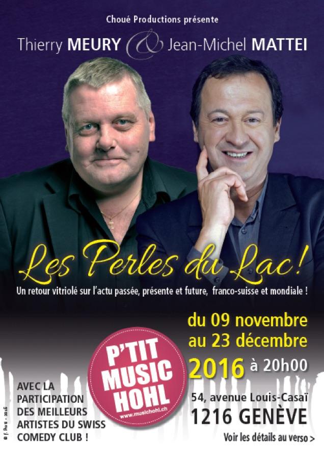 Thierry Meury  au P'tit Music'Hohl à Cointrin