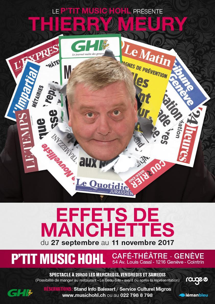 Thierry Meury - Effets de Manchettes