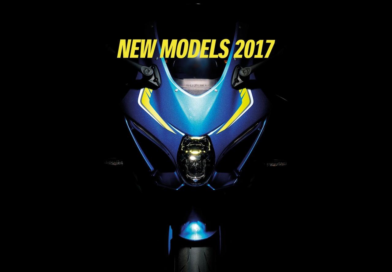 Nouveaux modèles Suzuki 2017