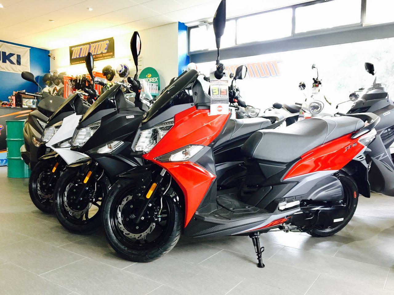 Nouveaux scooters SYM Jet14 125