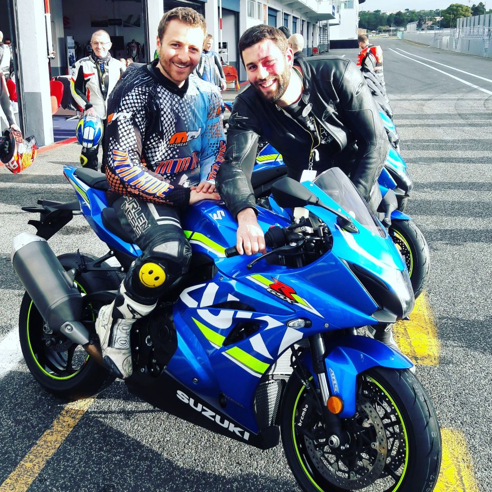 Test de la Suzuki GSX-R 1000 à Estoril