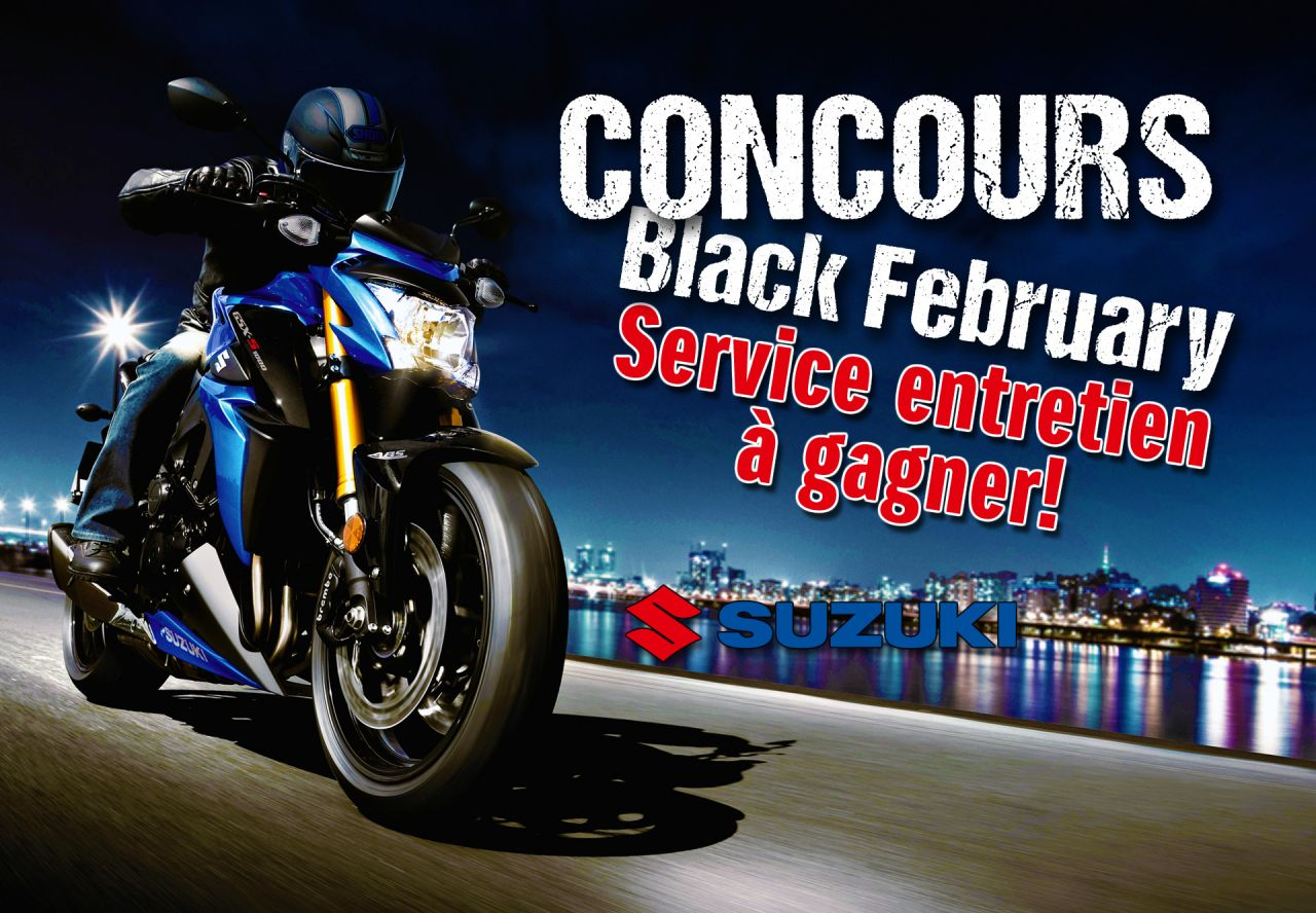 Concours Black February !