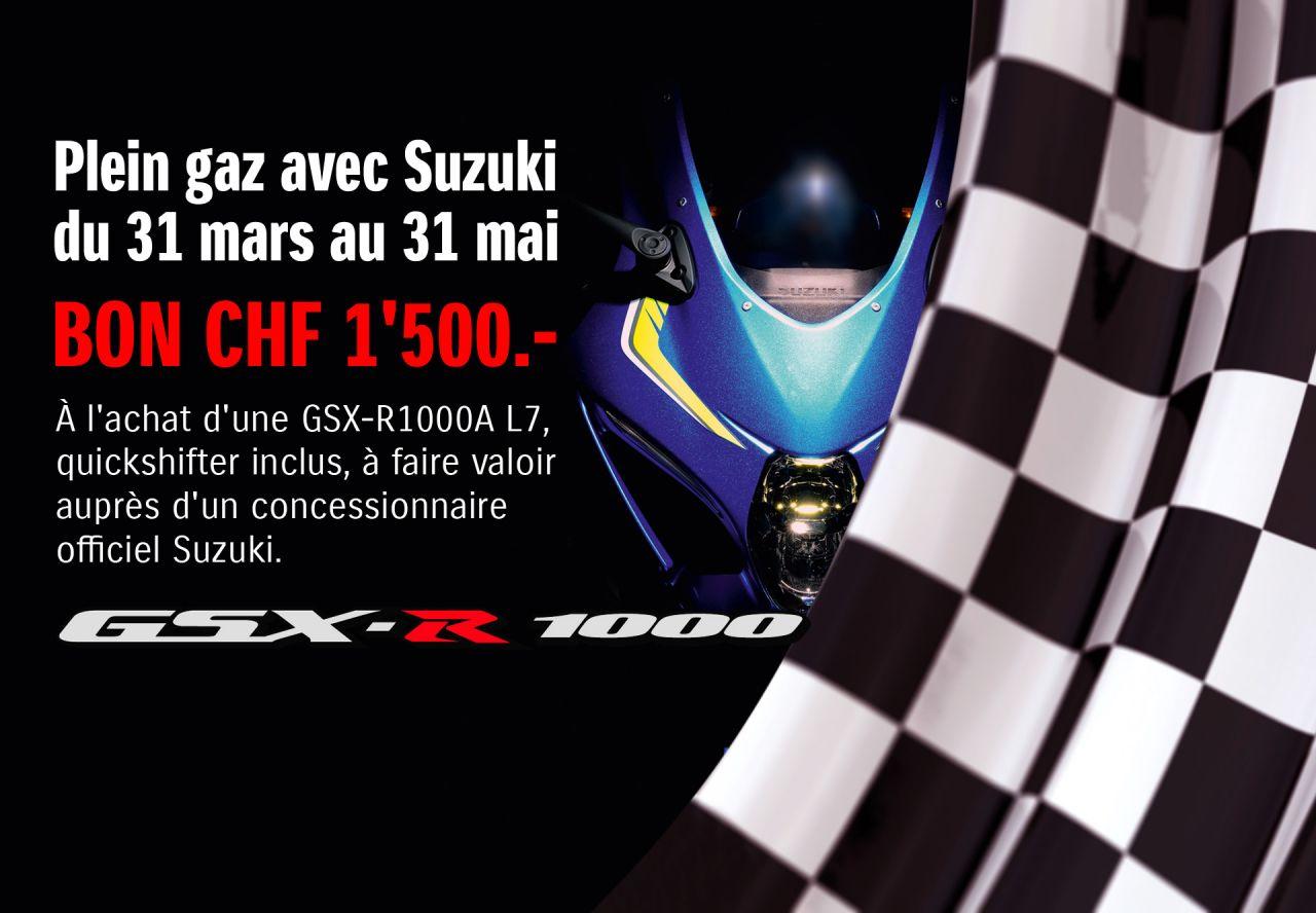 Promotion GSX-R 1000 A L7