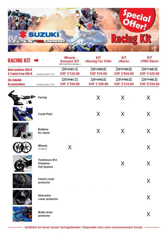 Suzuki Racing Kits