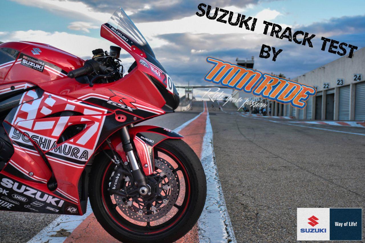 Suzuki Track Test 2018