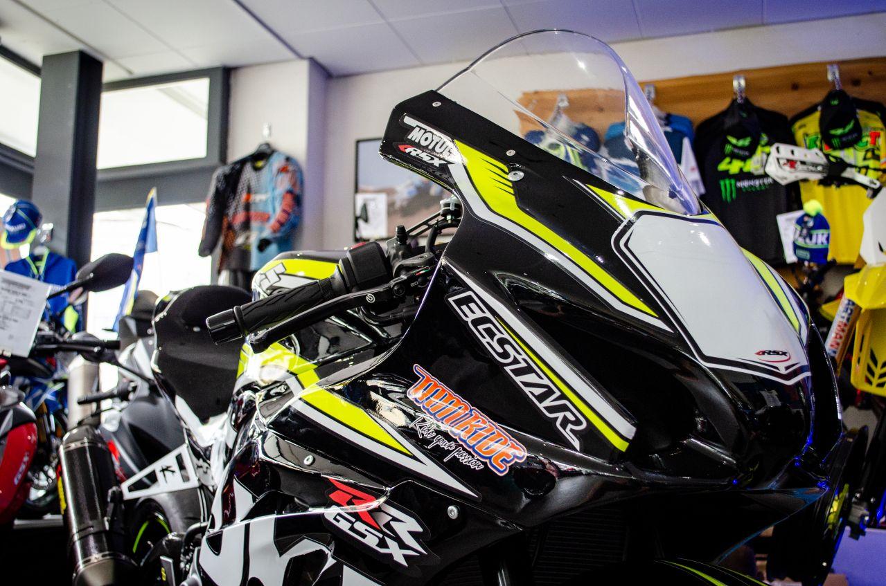 Garage Moto Suzuki Genève Mm Ride Suzuki Gsx R 1000 Ecstar Yellow