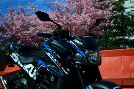 Suzuki GSX-S 750 GP Blue Edition by MM Ride