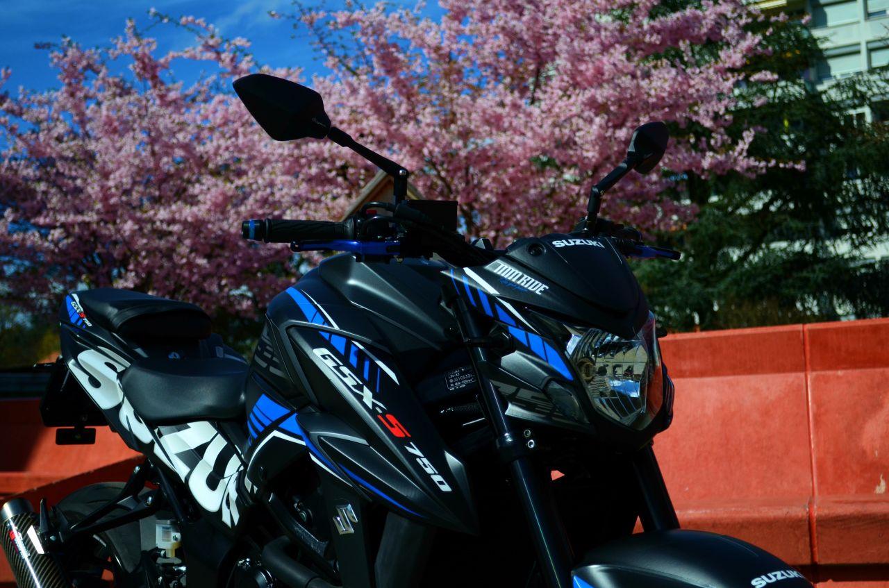 Suzuki GSX-S 750 GP Blue by MM Ride