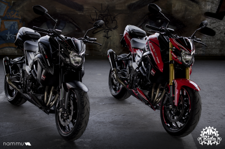 Suzuki GSX-S 750 Editions speciales MM Ride