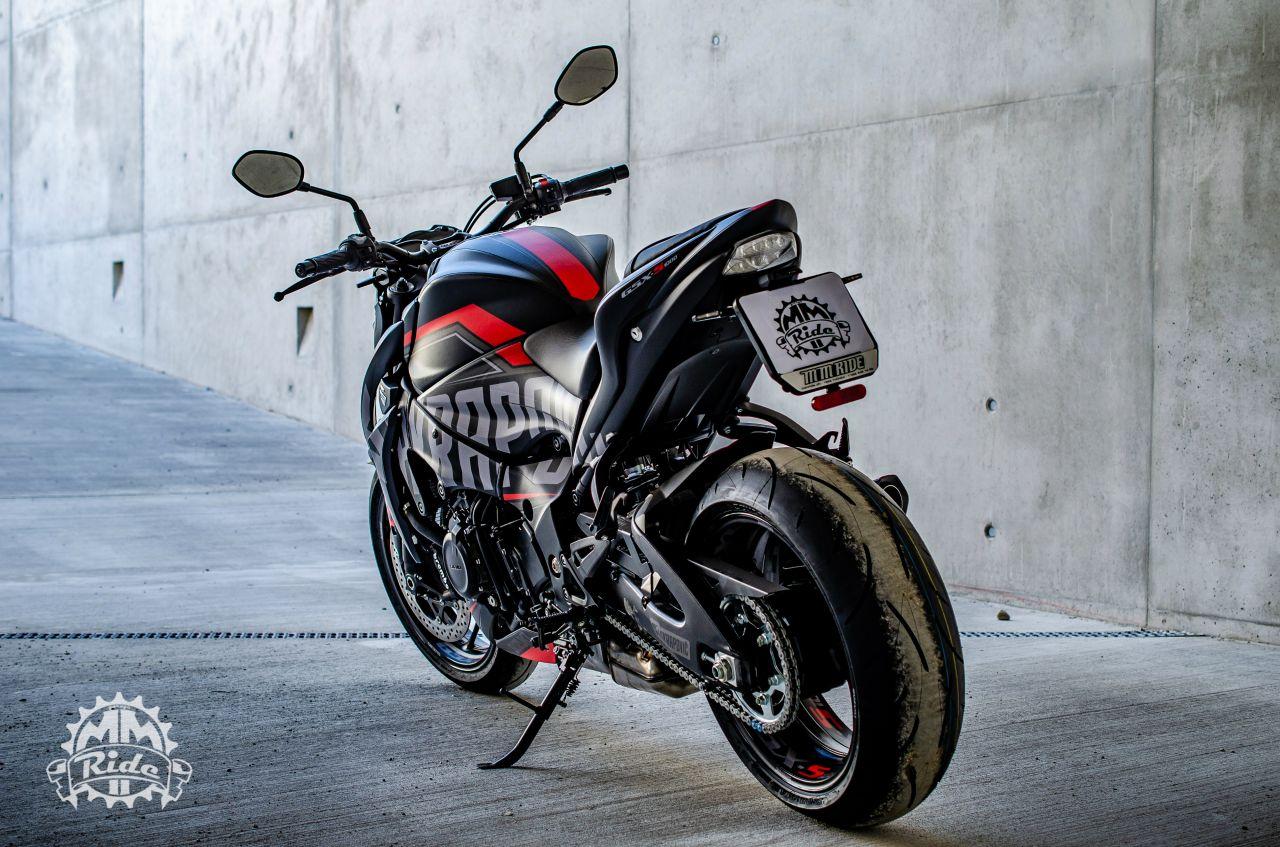 Suzuki GSX-S 1000 Akrapovic Project