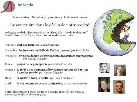 Le 3 avril à 18h | Conférence sur l'alimentation en période d'effondrement