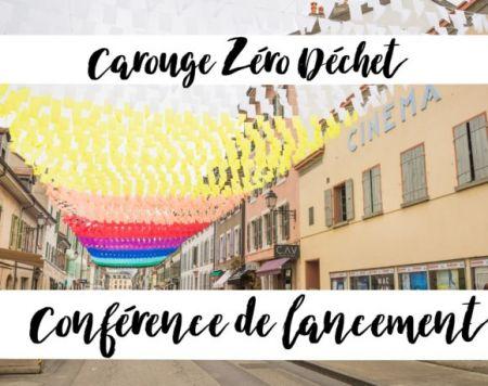 Le 28 avril à10h   Carouge Zéro Déchet – Conférence de lancement